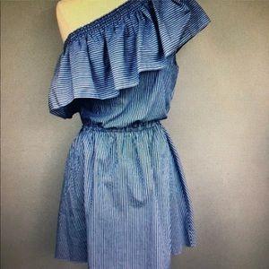 NWT parker one shoulder dress